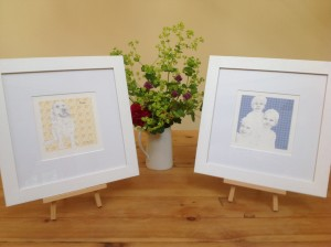Jane will Frame Your Portrait to finish it beautifully